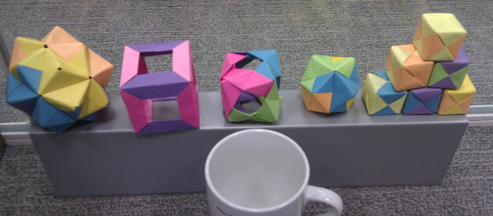 How to Turn Your Old Workshop Sticky Notes into Modular Origami ... | 314x717