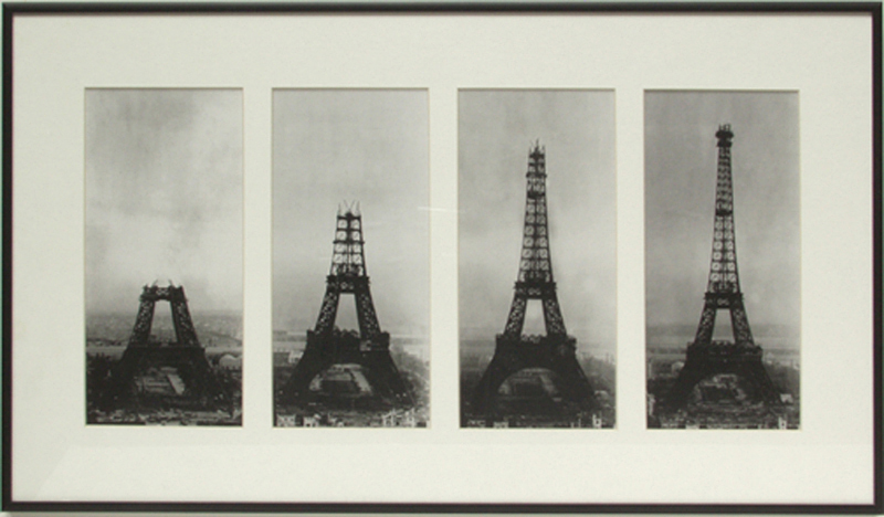 The Eiffel Tower was once under construction too.